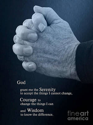 God Grant Me The Serenity Prints