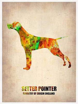 Setter Pointer Digital Art