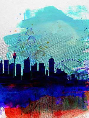 Sydney Skyline Paintings