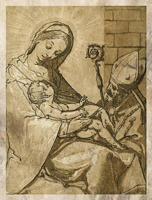Saint Mary Digital Art