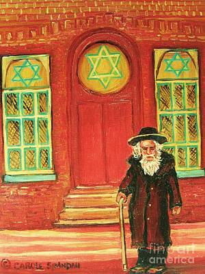 Montreal Synagogues Art