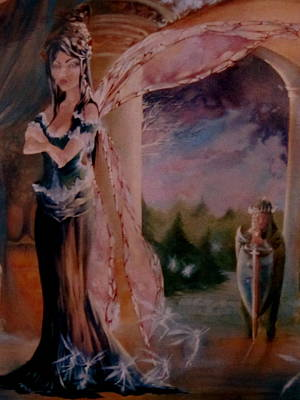 Tamlin Fairy Queen Poem Prints