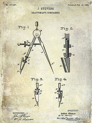 Designs Similar to 1888 Draftsmans Compass Patent