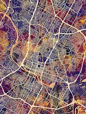 Designs Similar to Austin Texas City Map