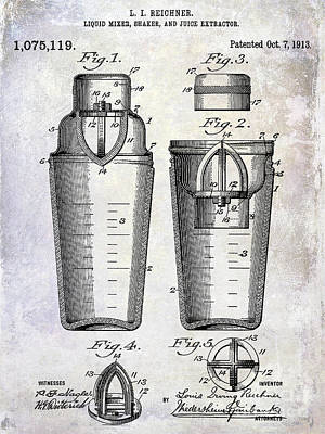 Designs Similar to 1913 Cocktail Shaker Patent