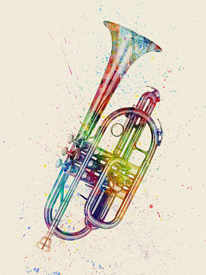 Designs Similar to Cornet Abstract Watercolor 3