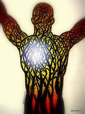 Spiritual Oppression. Symbolism Digital Art Prints
