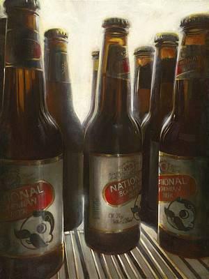 National Bohemian Beer Paintings