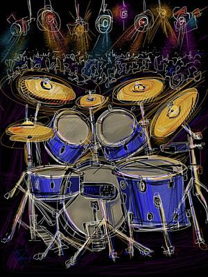 Ride Cymbal Prints