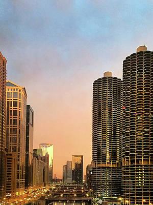 Designs Similar to Chicago's Marina Towers At Dawn