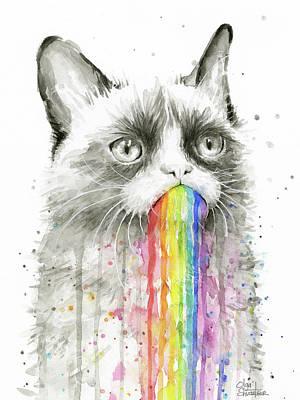 Designs Similar to Grumpy Rainbow Cat