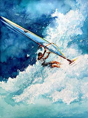 Wind Surfing Art Original Artwork
