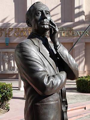 Statue Of Jack Benny Prints