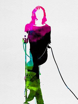 Mick Jagger Digital Art
