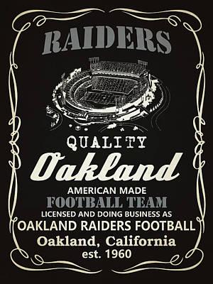 Oakland Raiders Paintings