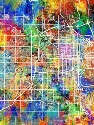 Designs Similar to Omaha Nebraska City Map