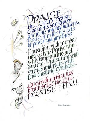 Praise The Lord Art