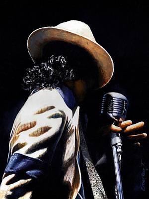 Michael Jackson Portrait Paintings Original Artwork