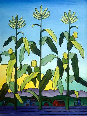 Cornstalks Paintings
