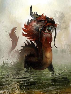 Dragon Mixed Media