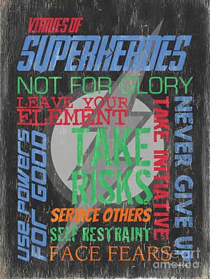 Designs Similar to Virtues Of Superheroes