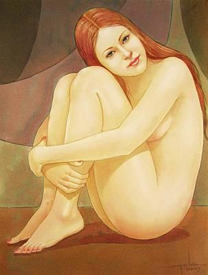 Girl Posing Prints