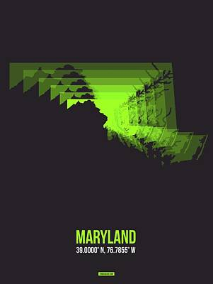 Designs Similar to Map Of Maryland