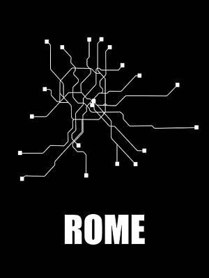 Designs Similar to Rome Black Subway Map