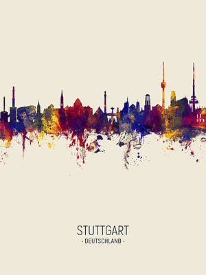 Designs Similar to Stuttgart Germany Skyline