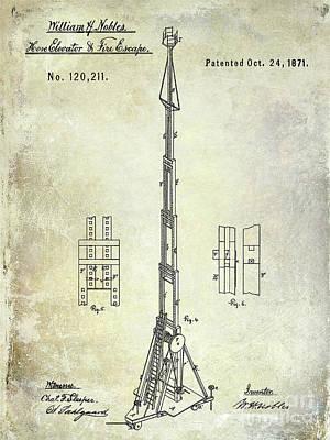 Designs Similar to 1871 Fire Hose Elevator Patent