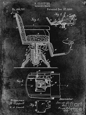 Designs Similar to 1892 Barbers Chair Patent Black