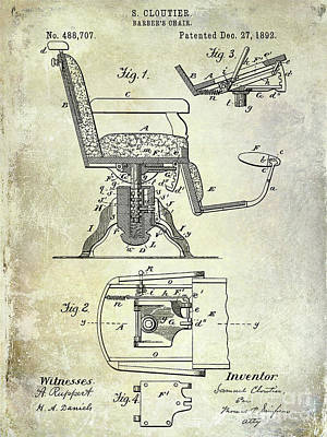 Designs Similar to 1892 Barbers Chair Patent