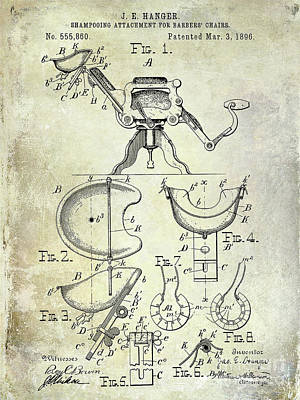 Designs Similar to 1896 Barbers Chair Patent