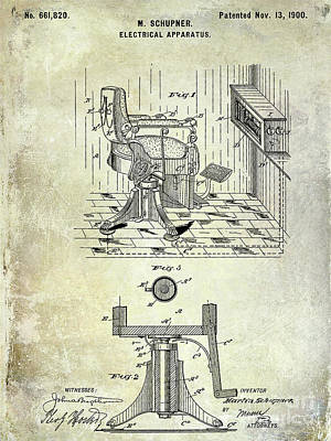 Designs Similar to 1904 Barber Chair Patent