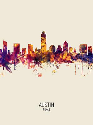 Designs Similar to Austin Texas Skyline