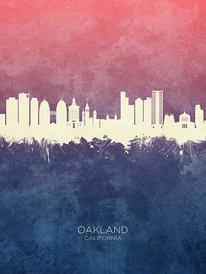 Designs Similar to Oakland California Skyline