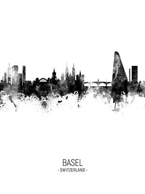 Designs Similar to Basel Switzerland Skyline