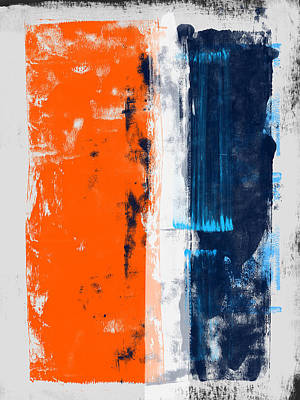 Designs Similar to Abstract Orange And Blue Study