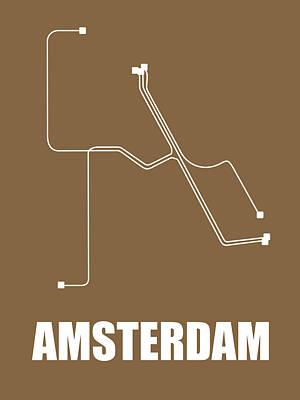 Designs Similar to Amsterdam Subway Map 2