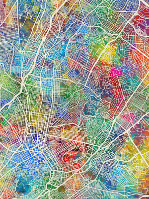 Designs Similar to Athens Greece City Map