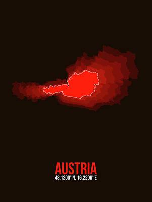 Designs Similar to Austria Radiant Map I