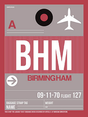 Designs Similar to Bhm Birmingham Luggage Tag II