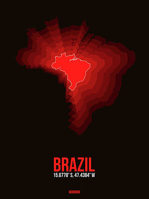 Designs Similar to Brazil Radiant Map 3