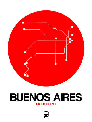 Designs Similar to Buenos Aires Red Subway Map