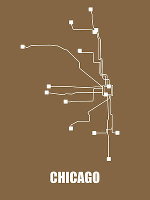 Designs Similar to Chicago Subway Map 2