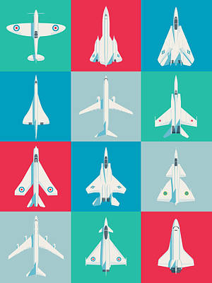 Designs Similar to Classic Iconic Aircraft Pattern