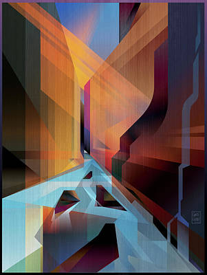 Dusk Digital Art Original Artwork