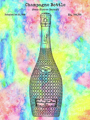 Designs Similar to Colorful Champagne Bottle
