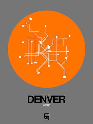 Designs Similar to Denver Orange Subway Map