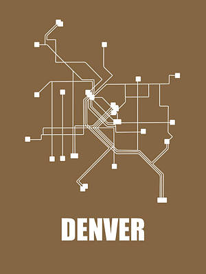 Designs Similar to Denver Subway Map 2